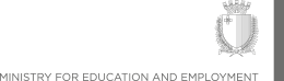 Malta Ministry For Education Employment Logo