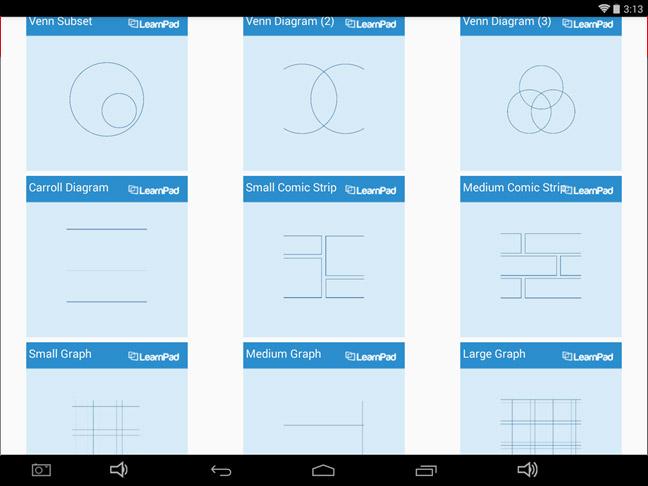 LearnPad WorkSpace App Backgrounds